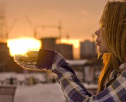 Touch the December sun by Sulde