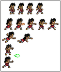 Broly sheet preview by VTK