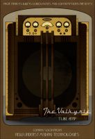 The Valkyrie Guitar Tube Amp by davincisghost
