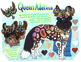 ~QUEEN ADELINA~ (Scarab AWD tribe project) by karby-licious