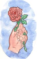 Every Rose Has Its Thorn by elliephant