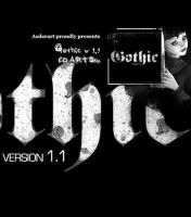 Gothic v1.1 for Cd Art Display by AsderArt