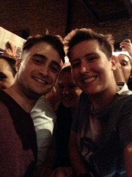 Myself and Daniel Radcliffe by BartyJnr