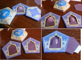 Handmade Harry Potter Chocolate Frog Cards by Isaacsporcaelus