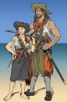A Couple of Privateers by borba