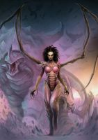 Kerrigan - Queen Of Blades by PapaOurs