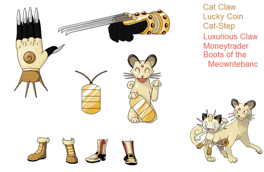 PSC Request... kinda -Meowth + Persian by Lybra1022