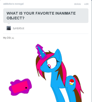 Tumblr: What is your favorite inanimate object? by AmytheRaichu