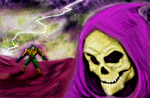 Hold it right there, Skeletor! by alienorb