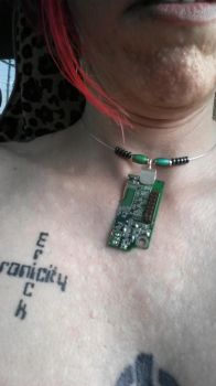 PCB necklace I made by serra
