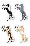Horse Point Adoptables 2 .:CLOSED:. by Dragara
