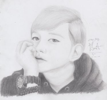 Taewoon Fanart by swagsterlionel