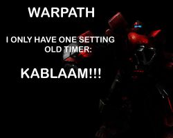 Warpath Wallpaper by Lordstrscream94