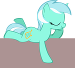 Lounging Lyra Pocketpony by OceanBreezeBrony