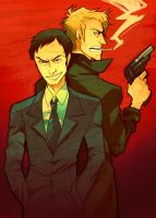 James Moriarty and Sebastian Moran by Nadiezda