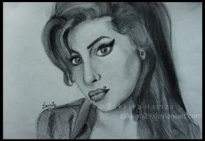 Amy Winehouse by zakkiya29