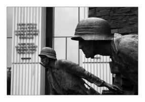 Warsaw - Ghetto Uprising by richardspence