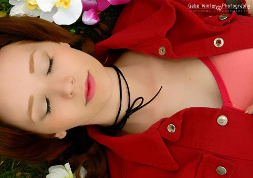Aerith's death by Aelyin-Cosplay