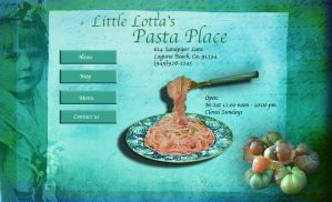 Little Lotta's Pasta Place by 3punkins