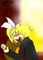 But, Len, fangirls are watching D8 by ochidpokemontrainer