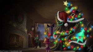 League of Legends - Xmas Tree Maokai by MaTTcomGO