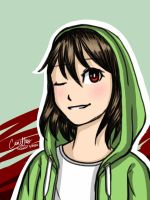 another storyshift chara by CanIHasPie