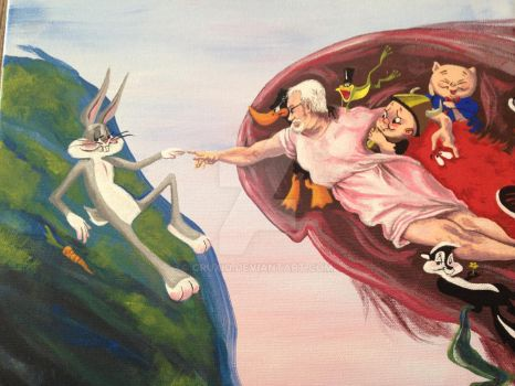 The Creation of Rabbits by cruxio