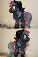 mlp OC Fuzzy Logic plush by Little-Broy-Peep