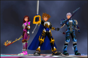 KH3 - The Chosen Three by todsen19