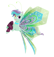 Art Trade: Peridot Wings by FuyusFox