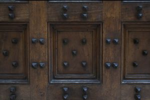 Door texture with nails 2 by enframed