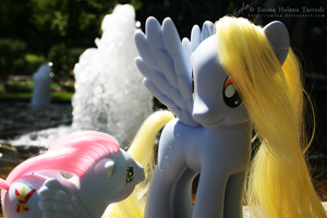 MLP G1 Pictures and G4 Derpy by Emfen