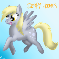 Derpy Hooves by Asp3ll