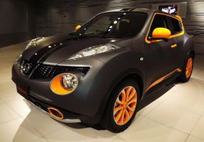 Nissan Juke Nissan custom coloring by sudro