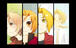 FMA Ed Group Portrait 1 by c0ralus