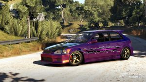 FH2: New OC Car Complete [EK] by 98SupraFurry