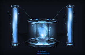 Apple Hologram by MagicMode
