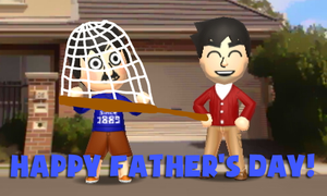 Happy Father's Day 2015!! (Tomodachi Life) by Kulit7215