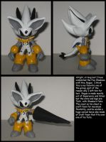 Custom Commission: Rogue the Shadow by Wakeangel2001