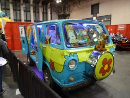 The Mystery Machine from Scooby-Doo by nx20