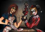 Alice and Harley by Toonlancer