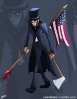 Abraham Lincoln: Vampire Hunter by derekblairart