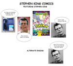 Stephen King Comics by newtonthenewt