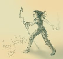 Happy B-Day, planewalker! by Ronamis