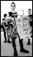 Only Bush I Trust Is My Own by digitalgrace