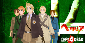 Hetalia Left 4 Dead by SuicideParker