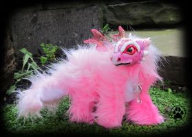 SOLD Ume the baby blossom dragon by CreaturesofNat