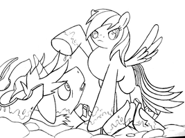 RDT lineart. by unitoone