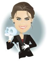 Emily Deschanel in Bones by nicoletaionescu