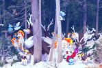 Wild pokemon Xmas 2011A by Ninja-Jamal